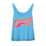 Emblem3 Sport Logo Girl's Tank