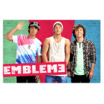 Emblem3 Colorblock Group Photo Poster