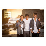 Emblem3 Beach Photo 2014 Tour Poster