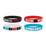 Emblem3 Tour 2014 Wristbands