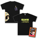 Elvis 40th Anniversary Aloha from Hawaii DVD & T-Shirt Combo