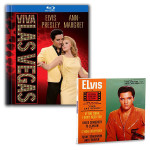 ELVIS Viva Las Vegas 50th Anniversary Blu-Ray & Viva Las Vegas Soundtrack FTD CD Bundle