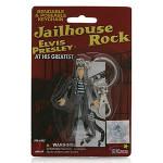 Elvis Jailhouse Rock Bendable Keychain