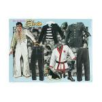 Elvis Interactive Dress-Up Magnet Set # 1