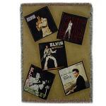 ELVIS Album Covers Throw