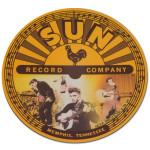 Elvis & Sun Logo Mouse Pad