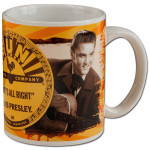 Elvis & Sun Logo Mug