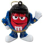 Elvis - M&M's Red Jumpsuit Ornament