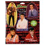 King of Rock 'n' Roll Elvis Magnet Set