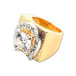 Elvis Horseshoe Ring