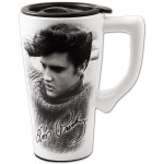 Elvis Sweater Ceramic Travel Mug