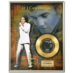 Elvis If I Can Dream Framed Gold Record - Limited Edition