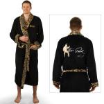 Elvis Leopard Embroidered Robe