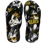 Elvis The King Flip Flops