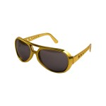 Elvis 1970s Youth Gold Sunglasses