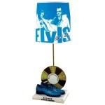 Elvis Blue Suede Shoes Figural Lamp