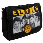 Elvis Sun Records Black Laptop Case