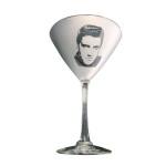 Elvis Classic '50s Martini Glass - Set of 2