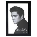 Elvis Wooden Framed Mirror