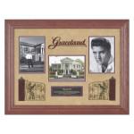 Elvis and Graceland Framed Photo Montage