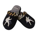 Elvis Leopard Slippers