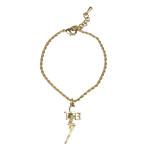 Elvis - TCB 18 kt Gold Plated Bracelet