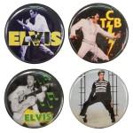 Elvis Round Button Set #2