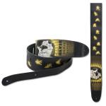 "Elvis Jumpsuit Sunburst 2.5"" Leather Guitar Strap"
