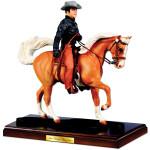 Elvis and Rising Sun Breyer Figurine: Harmony on Horseback