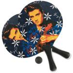 Elvis Blue Hawaii Beach Paddle Ball Set