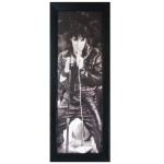 Elvis '68 Special Textured Framed Print