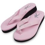 Elvis Bling Pink Women's Flip Flops