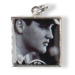 Elvis Private Presley Sterling Charm