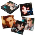 Elvis Faces Set of 4 Coasters