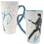 Elvis '68 Sheet Music Latte Mug