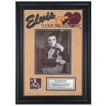"Elvis Love Me Tender 16"" x 23"" Framed Presentation"