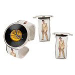 Elvis Golden Sun Bangle Watch