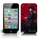 Elvis Leather iTouch 4G Skin