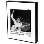 Elvis Rock & Roll Music Art Block Presentation