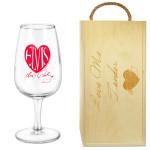 Elvis Love Me Tender Wine Glass Box Set