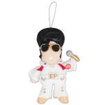 Elvis Jumpsuit Plush Musical Ornament