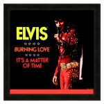 Elvis Burning Love Framed 20x20 Album Cover Art