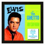 Elvis In the Ghetto Framed 20x20 Album Cover Art