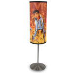 Elvis Gold Flame Table Lamp