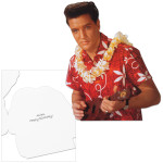 Elvis Presley Blue Hawaii Happy Birthday Greeting Card
