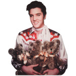 Elvis Presley Loving You Blank Greeting Card