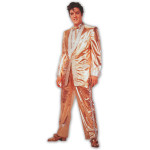 Elvis Presley Solid Gold Blank Greeting Card