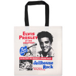Elvis Jailhouse Rock Movie Poster Tote Bag