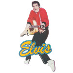 Elvis Dance Fridge Magnet