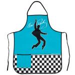 Elvis Checkered Apron